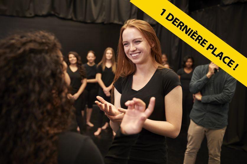 1 dernière place : Théâtre à travers l'improvisation | Jeudi à 20h | Aix-en-Provence